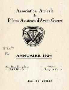 Biuletyn wydawany przez grupę pilotów Les Vieilles Tiges.
