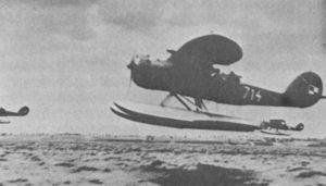 Samolot Lublin RXIII ter z Morskiego Dywizjonu Lotniczego